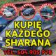 Skup VW Sharan, Kupię Każdego Sharana 2.0 Benzyna / Kupię Toyote,Kaczka,Atos,VW Golf 1.8